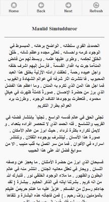 Kitab Maulid - screenshot