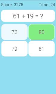 Math Game - náhled