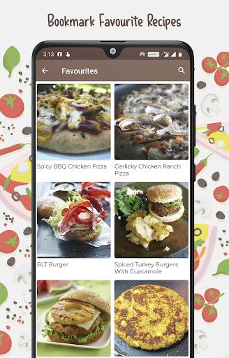 Burger And Pizza Recipes 25.7.5 screenshots 6