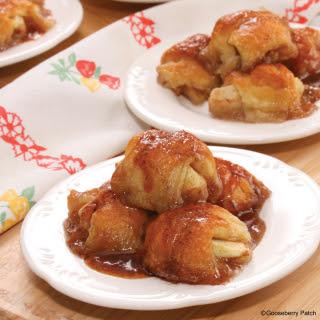 Sweet Mini Apple Dumplings.
