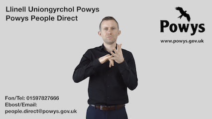 Powys launches online deaf, blind services