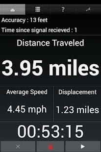 GPS Odometer- screenshot thumbnail