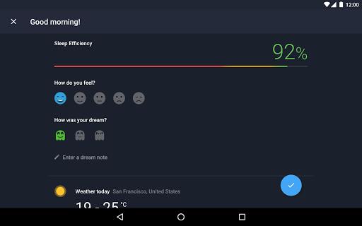 Runtastic Sleep Better: Sleep Cycle & Smart Alarm 2.6.1 screenshots 21