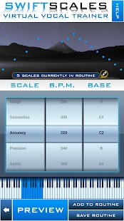 SWIFTSCALES - Vocal Trainer Screenshot