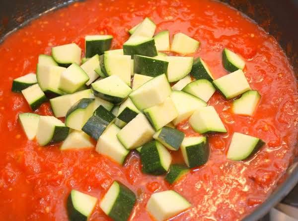 Saucy Italian Zucchini