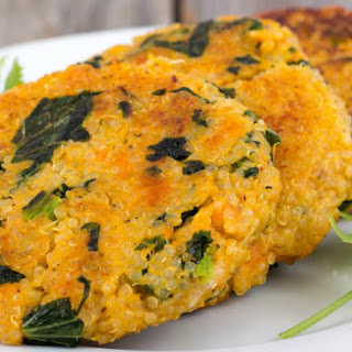 Sweet Potato Kale Fritters