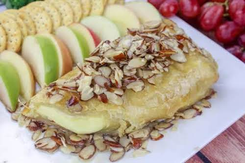"""Baked Brie With Warm Syrup""""This is a well-known recipe, but here is..."""