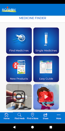 Screenshot for Boiron Medicine Finder in United States Play Store