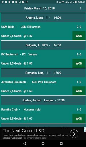 jUnder 2,5 Goals screenshots 2
