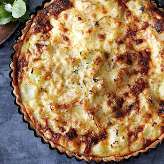 Cauliflower Cheese Tart.