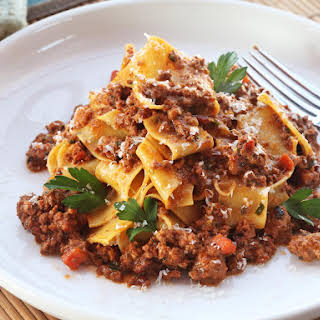 The Best Slow-Cooked Bolognese Sauce.