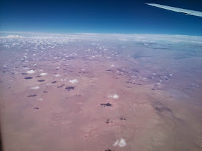 Photo: The Sahara (as far as the eye can see... in both directions)