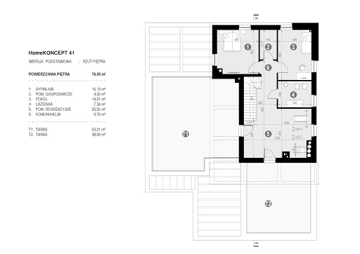 Koncept-41 - Rzut piętra
