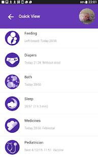 My Wee App - Baby tracker- screenshot thumbnail