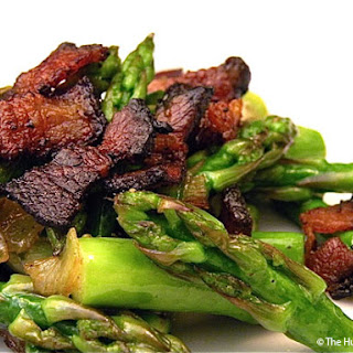 Warm & Smokey Asparagus Salad Recipe