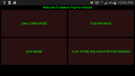 Balloon Pop For Android - náhled