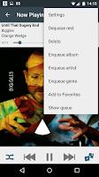 Screenshot of Vanilla Music