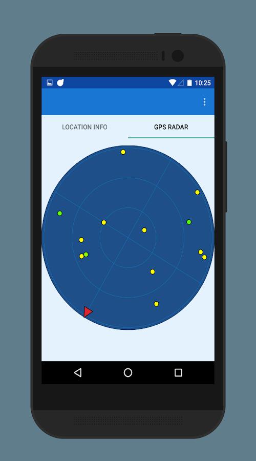 Gps Fix Gps Test Compass App Satellites Radar Screenshot