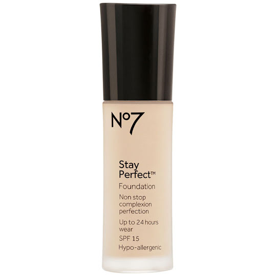 No7 Stay Perfect Foundation SPF 15 30 ml Warm Beige