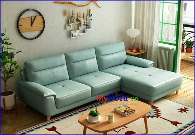 Mẫu sofa góc nhỏ gọn nhưng không kém phần tinh tế cho chung cư