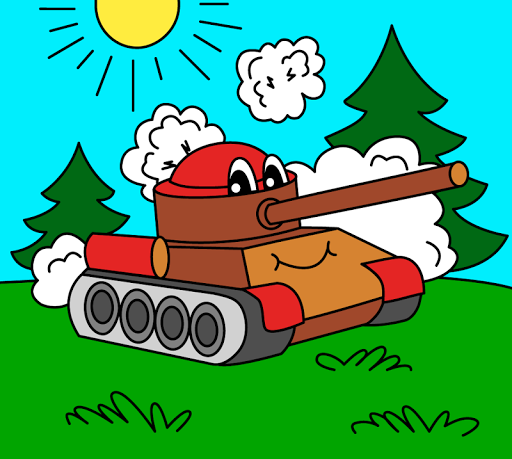 Coloring pages for children : transport  screenshots 1