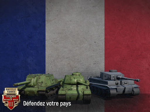 Battle Tanks: Legends of World War II  captures d'u00e9cran 2