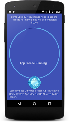 App Freezer No Root 4.6 screenshots 4