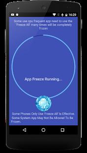 App Freezer No Root - náhled