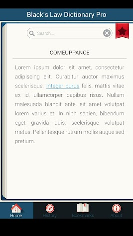 The Law Dictionary Screenshot