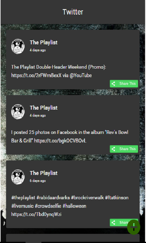 The Playlist- screenshot