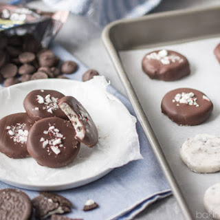 Cookies and Cream Peppermint Patties