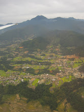 Photo: Flying over the Kathmandu Valley