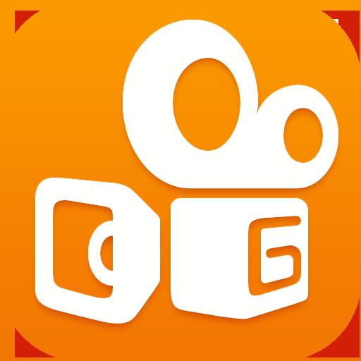 快手-爱拍爱玩爱秀小咖7秒视频,美颜美妆美图贴纸GIF电影 攝影 App LOGO-硬是要APP