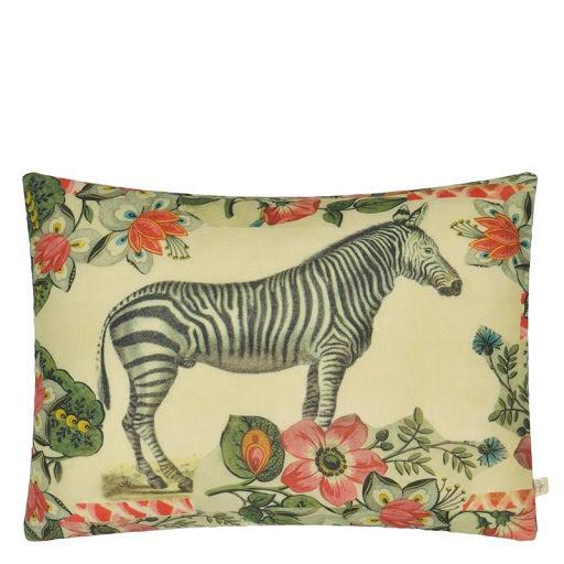 Zebras Sepia Kudde