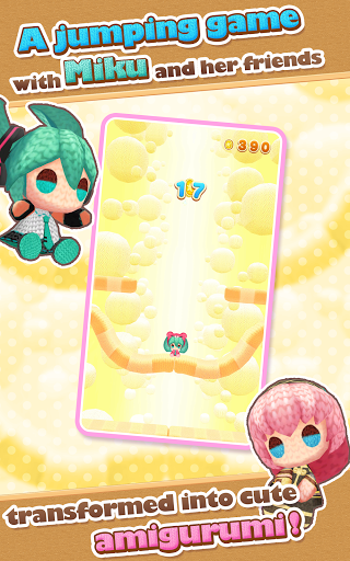Hatsune Miku Amiguru Jump screenshot 9
