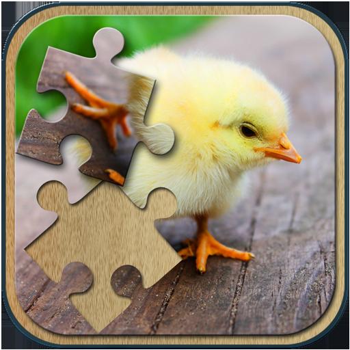 解谜の動物のジグソーパズル LOGO-記事Game