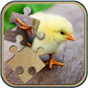 Cute Animals Jigsaw Puzzle icon