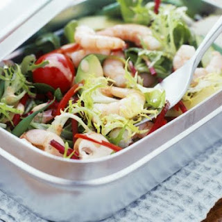Prawn and Avocado Lunch Salad