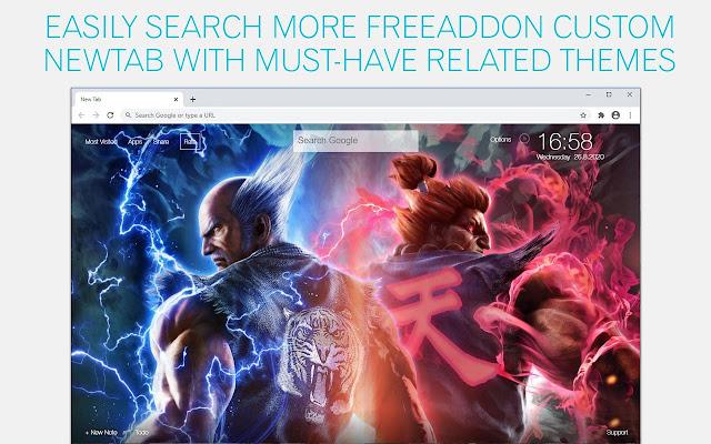 Tekken Wallpaper HD Tekken New Tab