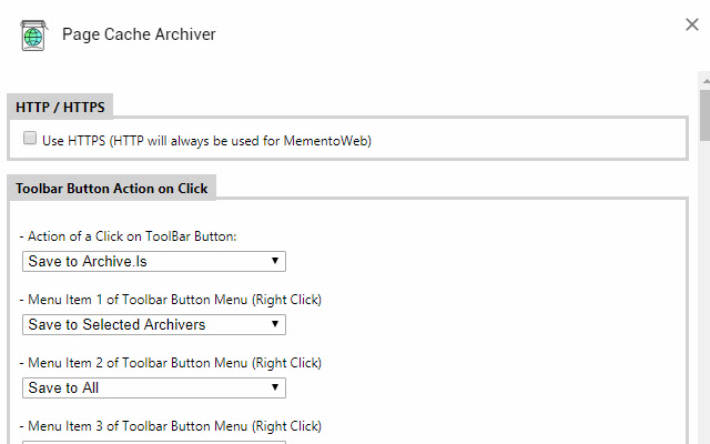 Page Cache Archiver