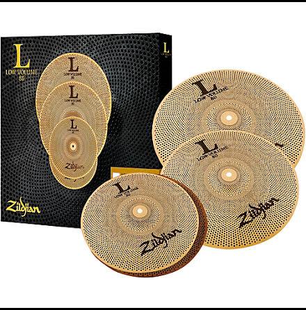 Zildjian L80 - Low Volume Cymbalset - LV348
