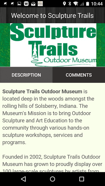 The Sculpture Trails- screenshot