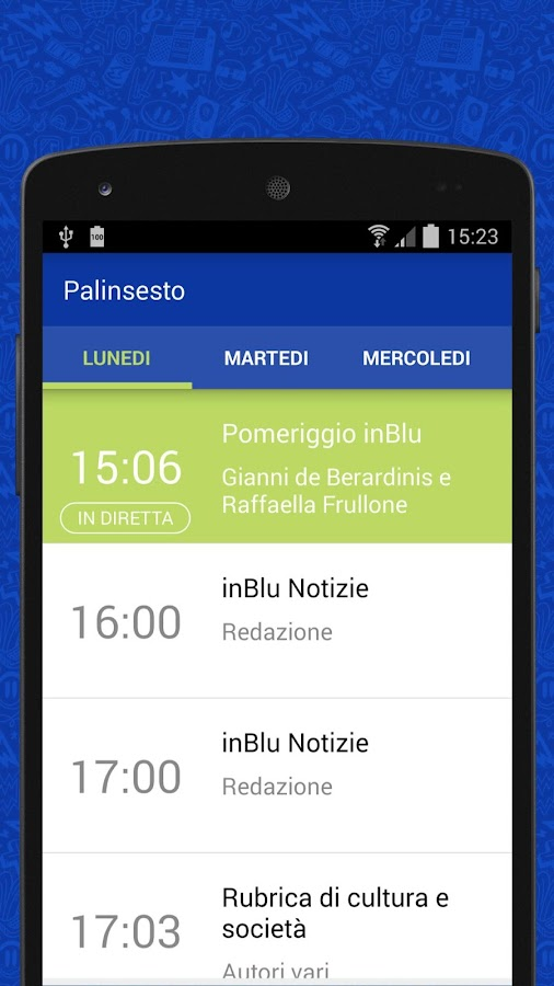 inBlu Radio- screenshot
