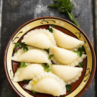 Appealing Chicken Potstickers With Parsley