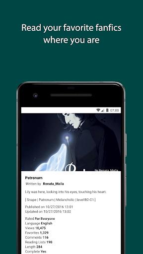 Free Books - Spirit Fanfiction and Stories 2.1.143 screenshots 3