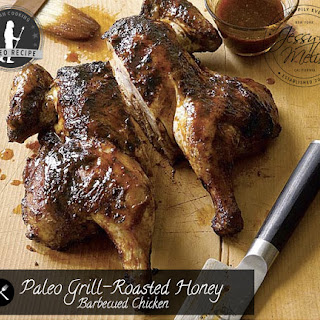 Paleo Grill-Roasted Honey Barbecued Chicken