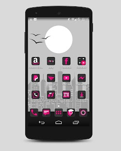 Fuxia - Icon pack- screenshot thumbnail
