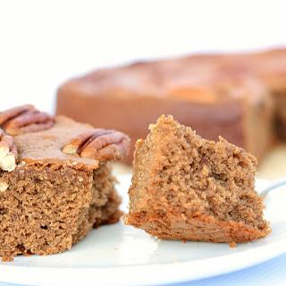 SPICED GINGER DATE CAKE (GLUTEN-FREE).