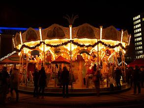 Photo: Weihnachtsmarkt - Christmas Market Essen - Roundabout - Karussell