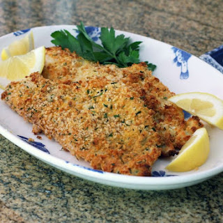 Baked Crusted Fish Recipes.
